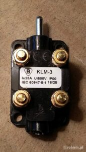 Nowy Łącznik KLM-3