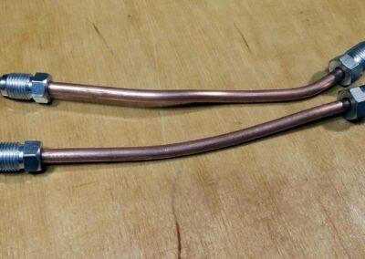 Dorobione przewody hamulcowe