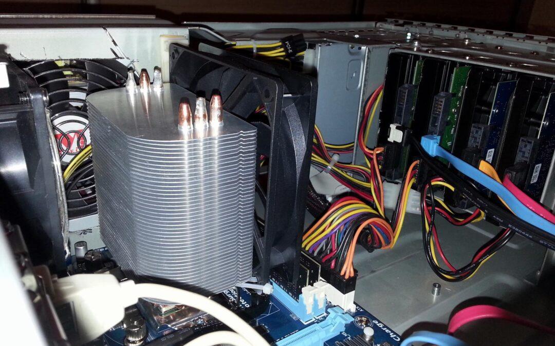 Tani serwer z używanego sprzętu